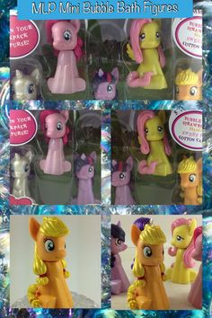My Little Pony Friendship Is Magic Mini Bubble Baths Pinkie Pie Fluttershy | eBay