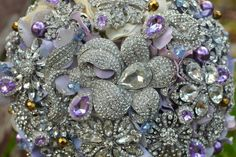 Deposit+on+an++lavender+brooch+bridal+bouquetmadetoorder+by+Noaki,+$240.00