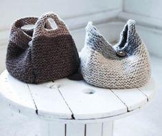 Super Bulky Handbag Free Knitting Pattern