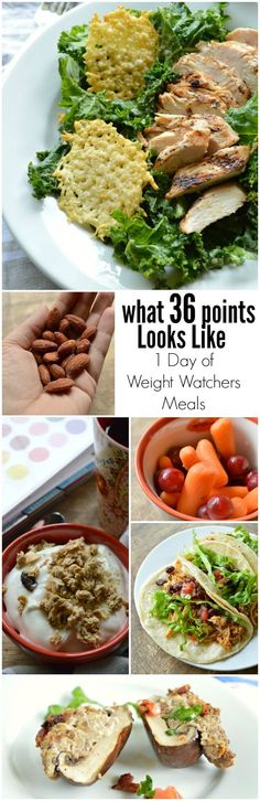 What 36 Points Looks Like is one day of meals on the Weight Watchers Points Plus Plan. Easy, healthy, delicious recipes! Plus some reflections.