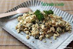 Tofu brouillé à l'oseille