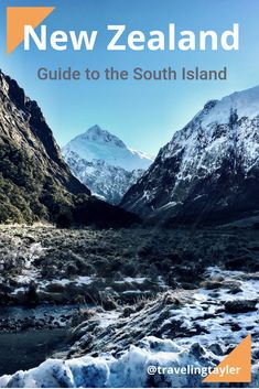 Where to visit when visiting New Zealand's South Island including a 7 day itinerary of what stops to make. #visitnewzealand #nztravel #travelnz #newzealandplacestovisit