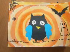 Halloweenská sova