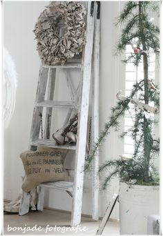 French Christmas - spindle tree....ladder... (: