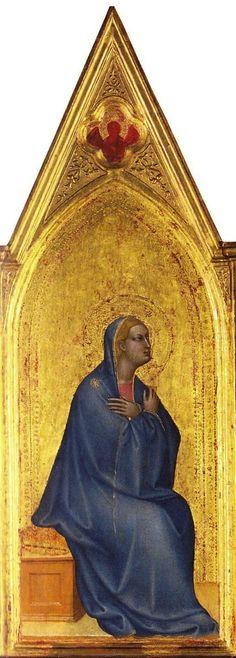 Giovanni da Milano - Madonna - c. 1365 - tempera e oro su tavola - National Gallery, London