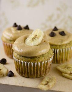 Banana Chocolate Chip Cupcakes by kstar810, via Flickr