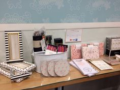 Stylish Stationery & more on display from Edie & Rona.