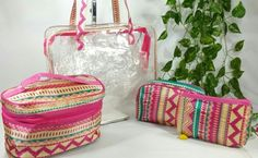 Multipurpose Kit.. 04 pouches.. 01st transparent bag - size12.5*10 inches  2nd pouch - size 9.5*5.5 3rd pouch - size 6.5*5.5 4th  pouch - size 7.5*5  Special deal at INR 1000 + shipping.. Grab it now... Limited stock available.. #style #swag #fashion #sale