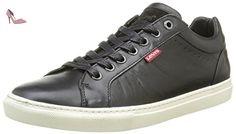 Levi's Perris, Derbys Homme, Noir (Noir Regular Black), 46 EU - Chaussures levis (*Partner-Link)