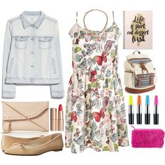 How To Wear I get A's in School Outfit Idea 2017 - Fashion Trends Ready To Wear For Plus Size, Curvy Women Over 20, 30, 40, 50