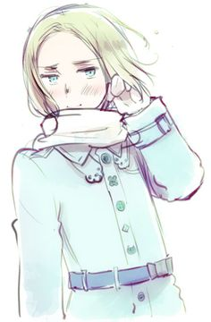 Axis Powers Hetalia Poland in Winter http://himaruya.blog61.fc2.com/blog-date-201411.html