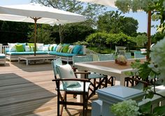 Coastal Exterior, Deck, & Patio Design