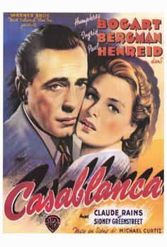 Casablanca 11x17 Movie Poster (1942)