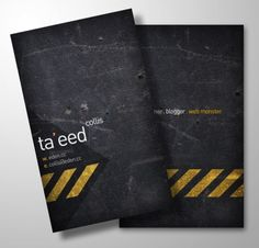 Business card design tutorial
