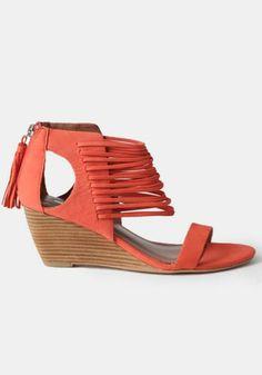 Bryn Wedge Sandals By Matiko