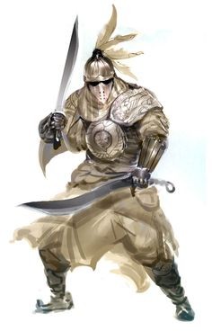 (Male) Armored Warrior.