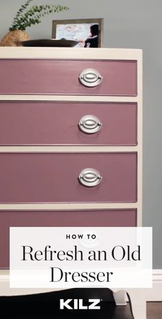 Head over to KILZ® for more DIY tips on refreshing traditional furniture pieces.