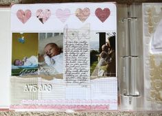 Baby Book- the mom who did this puts many baby books and scrapbooks to shame! Very detailed!