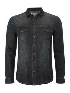 Nice Denim shirt..need one of these
