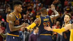 The Cavaliers' best lineup features LeBron James and 4 bench players  Surrounding LeBron with shooting and athleticism has been a winning formula ever since the Heat started doing it, and the Cavaliers are just following that recipe. Yet, James benefits from the setup, as well. Having Frye, Shumpert and Jefferson -- all ... http://www.sbnation.com/2016/5/26/11781600/cavaliers-lineup-lebron-james-channing-frye-breakdown-backup