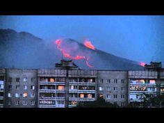 Tantv.kz - В Усть-Каменогорске горят 40 гектаров травы (ВИДЕО)