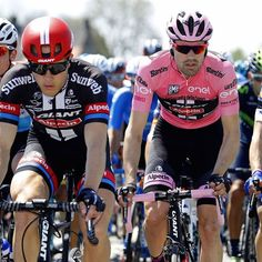 It has been two great days for Tom Dumoulin wearing the pink jersey.