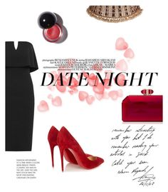 """Hot Date Night Style"" by samanthasade ❤ liked on Polyvore featuring WearAll, Judith Leiber, Christian Louboutin, DateNight, date, women and fashionset"