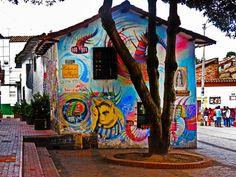 Murales en el Chorro de Quevedo