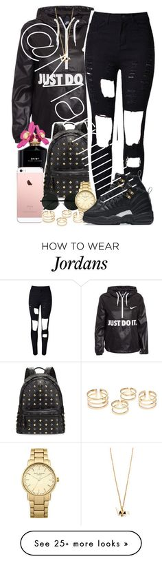 """""""Just do it"""" by marriiiiiiiii on Polyvore featuring NIKE, Marc Jacobs, MCM and Topshop"""