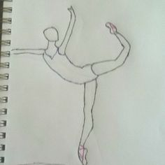 My first drawing of a ballet dancer