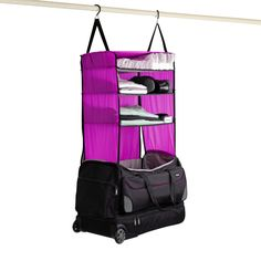 913c377a9c1 Rise Duffle Bag! Travellers Best Friend! Has built-in collapsible shelves  that pull