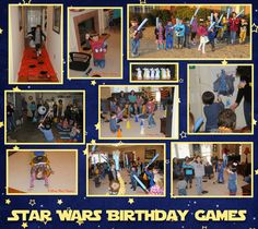 A Disney Mom's Thoughts: Star Wars Birthday Party Games & Activities