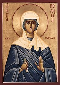 MYSTAGOGY: Virgin Martyr Pelagia, Venerable Pelagia and Venerable Thais: Three Holy Responses to Sexual Immorality