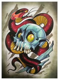 tattoo art by dave tevenal - Google Search