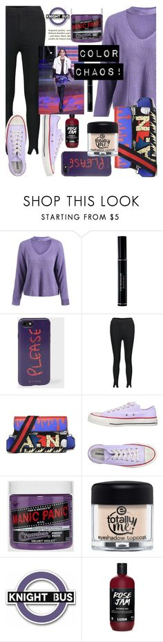 """""""Chaos of colors,for all velvet lovers!💅"""" by jelena-bozovic-1 ❤ liked on Polyvore featuring Christian Dior, Paul Smith, H&M and Converse"""