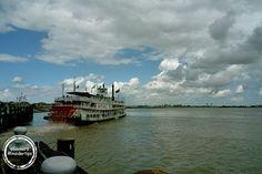 Dampfschiff-Kreuzfahrt auf dem Mississippi #steamboat