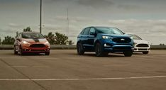 Ford Edge St Shows The Fiesta St And Focus St What Its Made Of