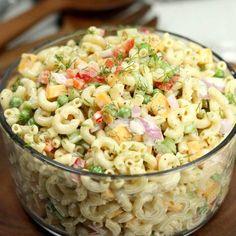 22. Easy Macaroni Salad