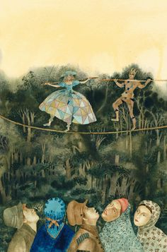Children's Book Illustration by Russian Artist Vera Pavlova