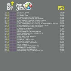 #GamersZone #TradeIn #Games #Videogames #Videojuegos #Gamers #Geek #ElDuende #Guatemala #PlayStation #PlayStation3 #PS3