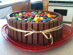 Kit Kat & M bowl- super cute idea