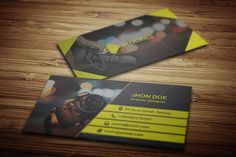 Photography Business Card Template by JigsawLab on Creative Market