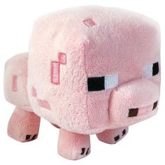 "Minecraft Baby Pig 7"""" Plush Toy"