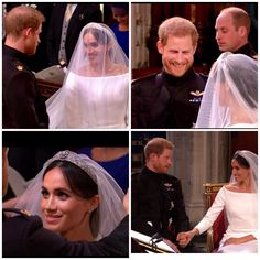 19/05-2018 A modern marriage today. Harry and Meghan wed at St George's Chapel in Windsor in an beautiful inclusive and relaxed,multi-cultural ceremony, the likes of which the Royals have never seen. Harry was tearful as he greeted his bride he grabbed her hand and said: 'You look amazing' and thanked father. On Windsor carriage journey Meghan said 'wow' to her new husband and he replied: 'I'm ready for a drink'