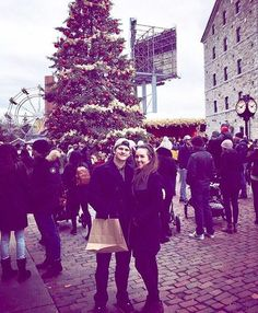 Sundays at the Christmas market ✨🍷🎄❤️