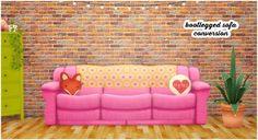 Bootlegged sofa conversion at Lina Cherie • Sims 4 Updates