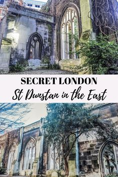 Secret London: St Dunstan in the East | London secret garden | London hidden gem | London secret locations | UK travel | things to do in London | abandoned church | London city garden | Insta-worthy places in London | unusual attractions in London | hidden London | London insider tip | London attractions | the best things to do in London | things to do in London with kids | free things to do in London | London wedding photography