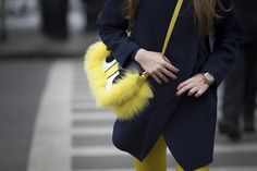 NYFW Day One: Fendi handbag