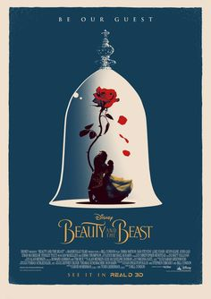 Beauty and the Beast #alternative #movie #art #poster #complex #illustration #film #creative