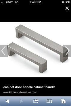 Utility room shelf handles